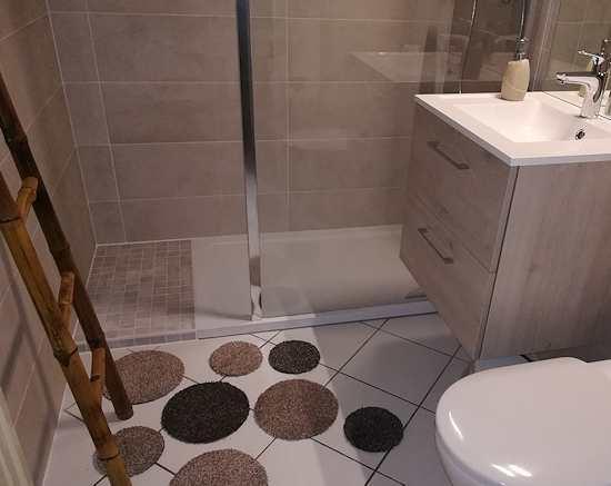 Tapis de salle de bain original pas japonais