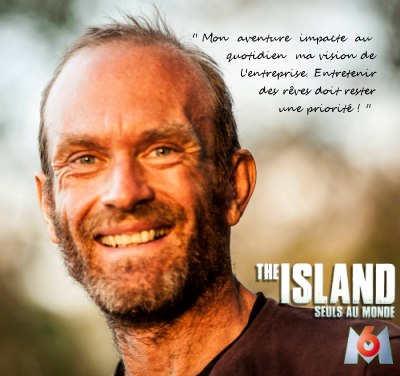 Michel Vernet The Island M6 gérant de Tapisnet